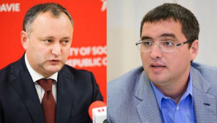 Renato Usatîi și Igor Dodon