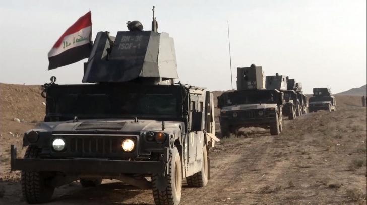 Victorie URIAŞĂ pentru forțele irakiene în partea de est a Mosul