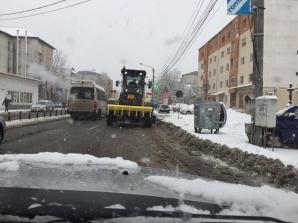 România sub zăpezi