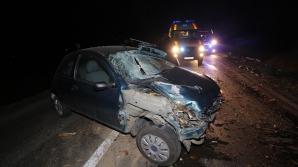 Accident, trafic blocat