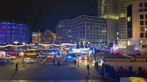 Alertă la Berlin. Un camion a intrat în mulţime, la un târg de Crăciun. Un mort şi mai mulţi răniţi