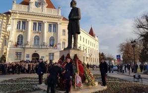 Depuneri de coroane la Alba Iulia