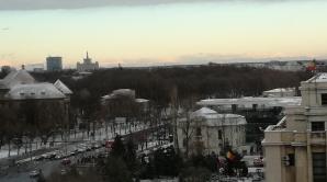 Spectaculos! Munţii Carpaţi, vizibili în Bucureşti, în această dimineaţă - FOTO