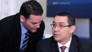 Dan Sova si Victor Ponta