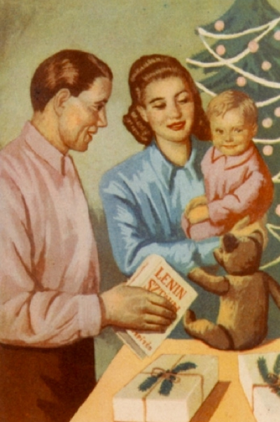 Îţi mai aduci aminte cum sărbătoreai Crăciunul în comunism? GALERIE FOTO