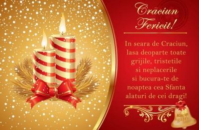 FELICITĂRI DE CRĂCIUN. Cele mai frumoase felicitări de Crăciun pentru cei dragi