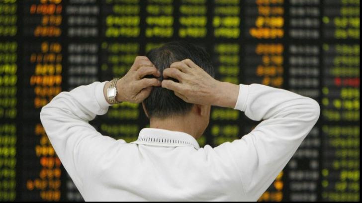 Burse în picaj