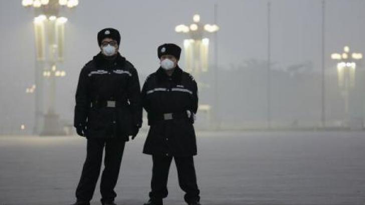 COD ROŞU de alertă la Beijing din cauza poluării