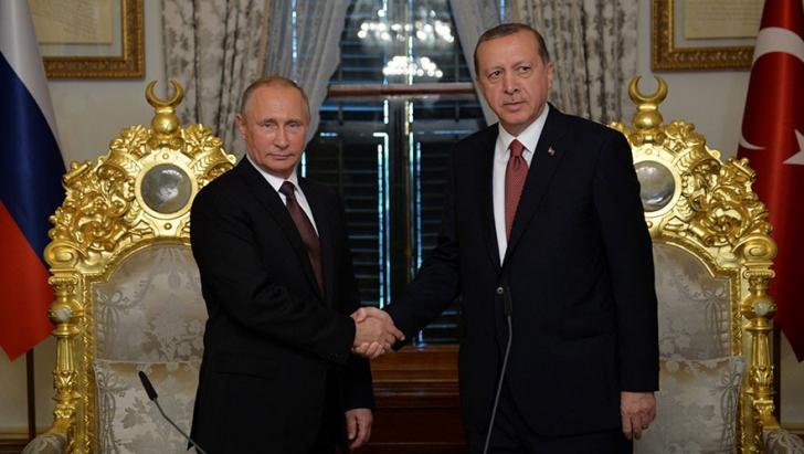 Undă verde pentru gazoductul Turkish Stream. Acord major Erdogan-Putin