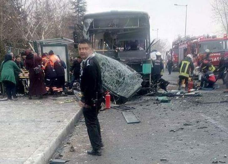 Explozie într-un campus universitar din centrul Turciei. Cel puţin 13 morţi şi 48 de răniţi UPDATE