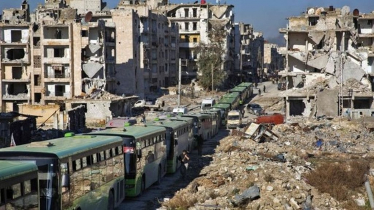 Evacuări Alep