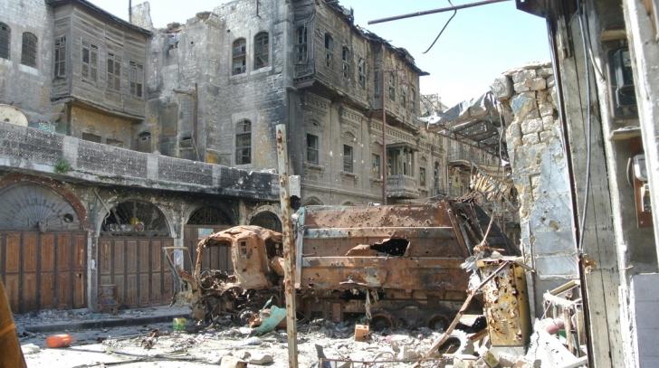 Jihadiștii grupării ISIS au lăsat oraşul Alep fără apă potabilă