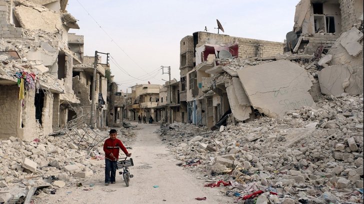 Siria: o mie de persoane au putut pleca din Alep