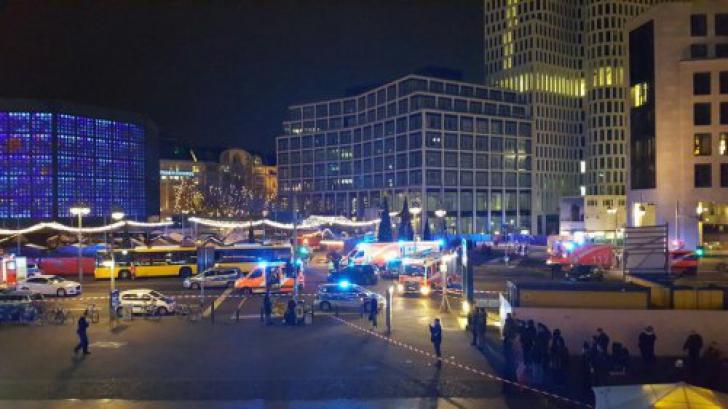 Patru persoane, arestate pentru legături cu presupusul autor al atacului de la Berlin