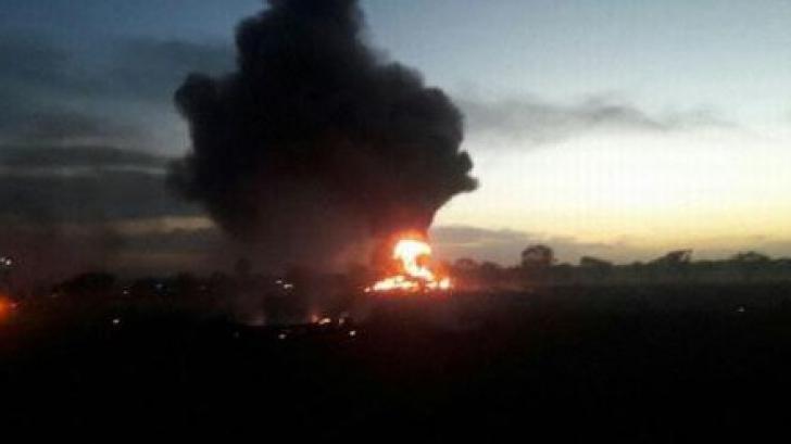 Avion prăbuşit în Columbia: cinci morţi, un rănit