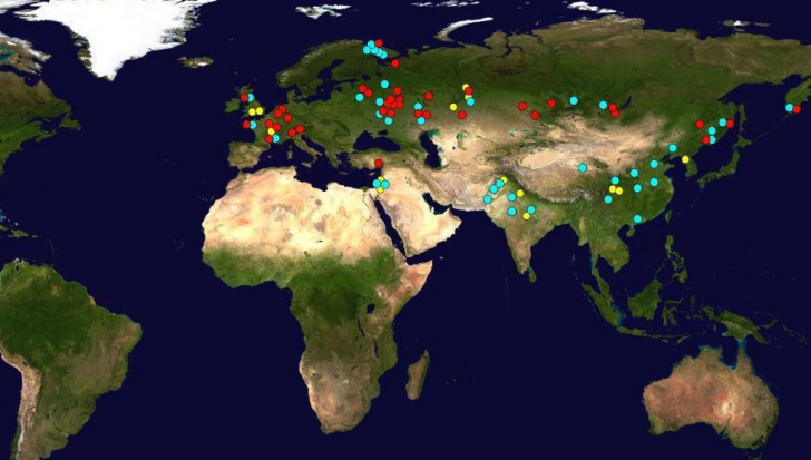 Harta care-ți arată cât de aproape de o bombă nucleară locuiești