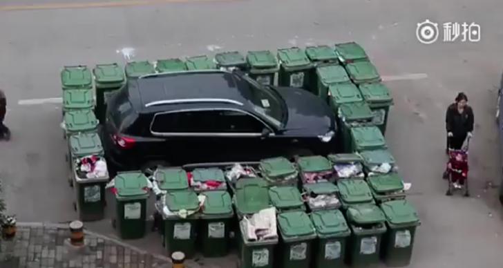 Parca mereu pe locul mașinii care colecta gunoiul. Cum și-a găsit autoturismul într-o zi