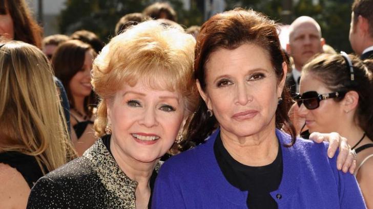 Debbie Reynolds și fiica sa Carrie Fisher vor fi înmormântate una lângă alta