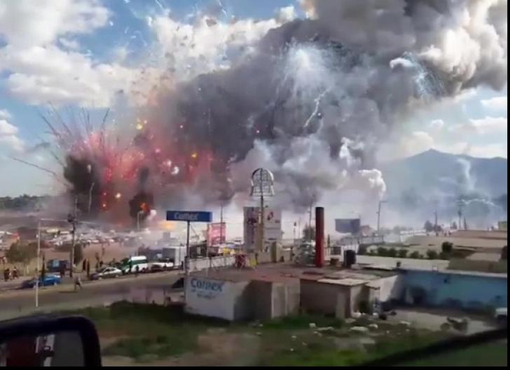 EXPLOZIE într-o piață din Mexic. Cel puțin 29 de morți și 72 de răniți