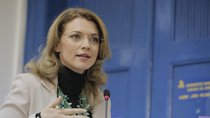 "Alina Gorghiu, despre ministrul Justiției: ""Prună egal PSD egal Cazanciuc"""