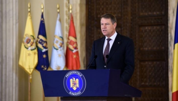 Ora 12.00: Preşedintele Klaus Iohannis face declaraţii la Cotroceni