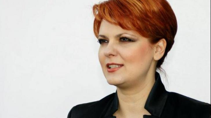 Lia Olguţa Vasilescu, propusă la Ministerul Muncii