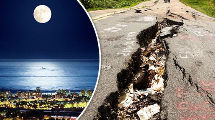 Luna poate influenţa cutremurele. Iată explicaţia
