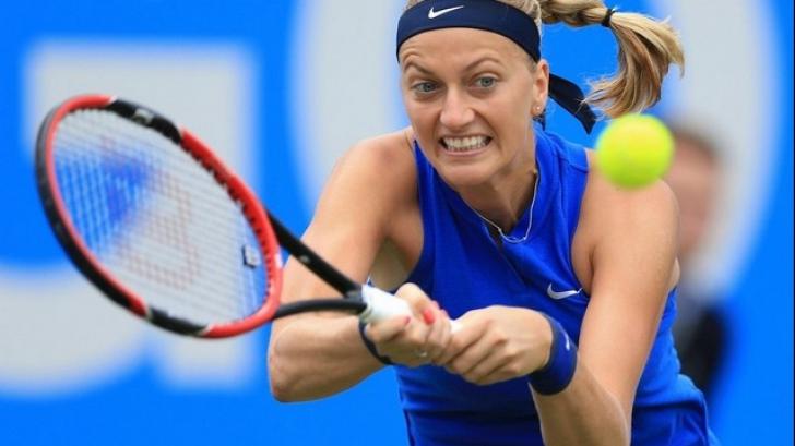 Tenismena Petra Kvitova, înjunghiată în propria casă