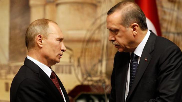 Discuţie între Putin şi Erdogan, după ce ambasadorul Rusiei în Turcia a fost asasinat