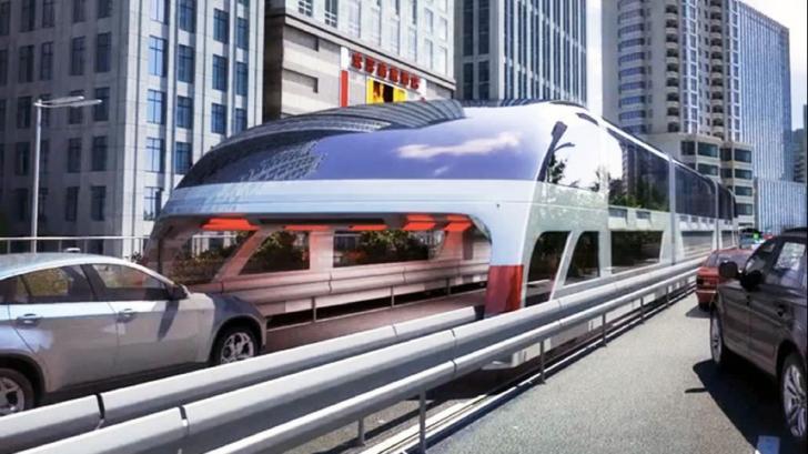 Mega-autobuzul chinezesc a fost un eşec. Motivul pentru care a fost scos din funcţiune