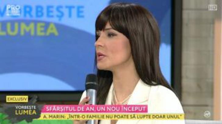 Andreea Marin și-a schimbat complet look-ul