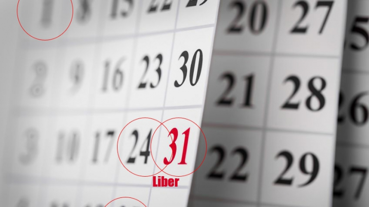 Zile libere 2017. Câte zile libere de la stat au românii în 2017