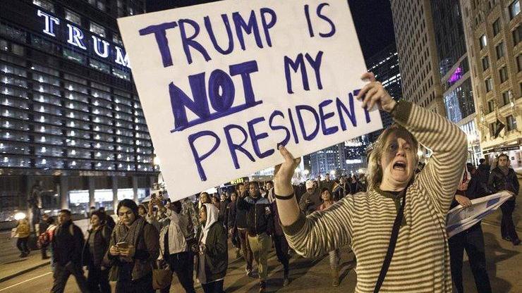 Proteste împotriva lui Donald Trump: Violențe în apropierea Casei Albe