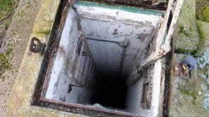 Bunker în curtea casei