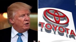 Toyota, relație amicală cu Trump