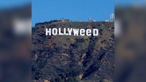 """Simbolul """"Hollywood"""", vandalizat. Gluma virală pe reţelele de socializare"""