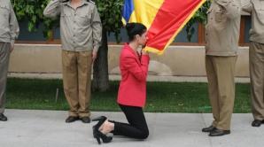 Ce făcea Ana Birchall, posibil viitor ministru, în 2008, în biroul lui Geoană