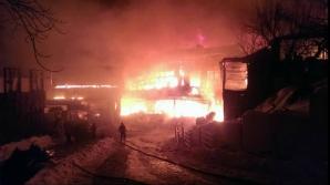 Incendiu din Bamboo. Două persoane mai sunt internate la Spitalul Floreasca