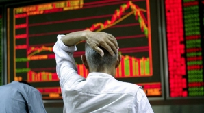 Bursele europene, în scădere