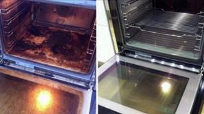 Cea mai simplă metodă de a curăţa cuptorul aragazului. Va arăta ca nou!