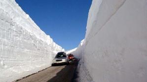 Cum se face dezăpezirea în Norvegia şi Canada, la minus 30 de grade. Pare ireal! VIDEO