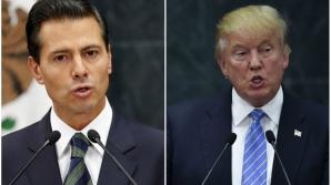 Presedintele Mexicului, reacție la zidul lui Trump
