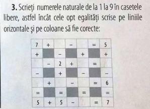 Provocare: Tu reuşesti să rezolvi acest execiţiu de matematică de clasa a II-a?