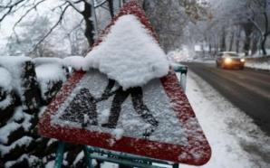 ALERTĂ METEO de ultimă oră! COD PORTOCALIU şi cod galben de ninsori viscolite, inclusiv în Capitală