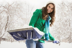 Cum să dai zăpada rapid, FĂRĂ lopată