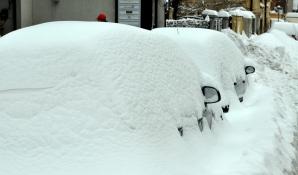 Strat de zăpadă România