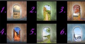 Alege oricare dintre aceste uşi şi află ce-ţi rezervă viitorul