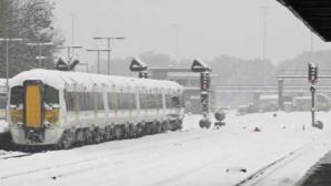 Trafic feroviar oprit: o linie de cale ferată s-a fisurat din cauza temperaturilor scăzute