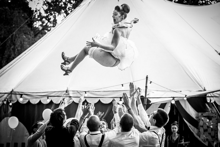 Momente amuzante la nuntă