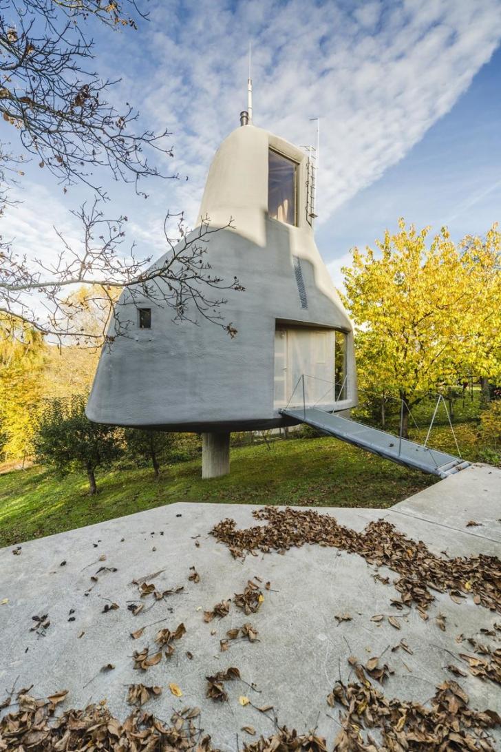 Cea mai originală casă? Se află nu departe de România, dar aşa ceva n-ai mai văzut!